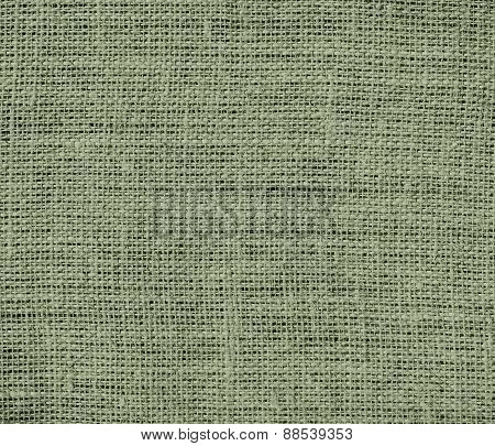 Burlap artichoke texture background