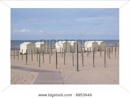 beach view in de panne