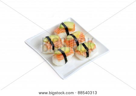 Fresh Traditional Japanese Sushi