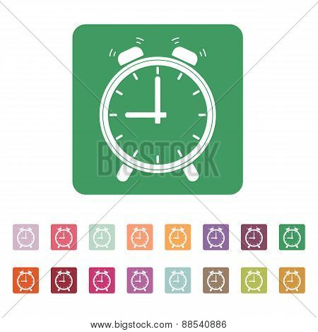 The Alarm Clock Icon