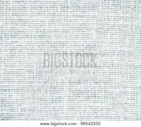 Azure mist color burlap texture background