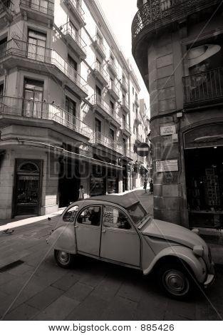 Gothic Quater Streets