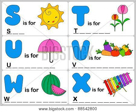 Alphabet Word Game/ Activity