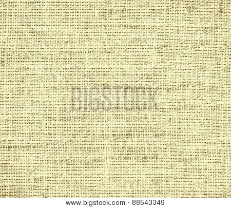 Banana Mania color burlap texture background