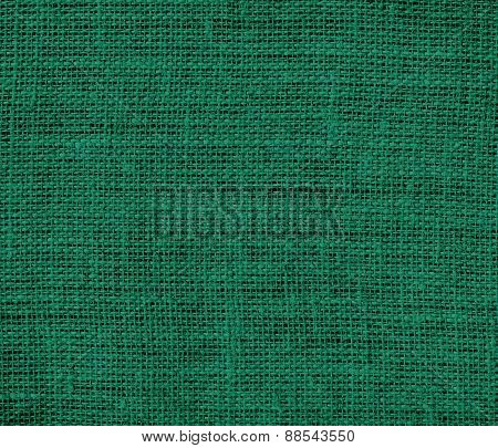 Bangladesh green color burlap texture background