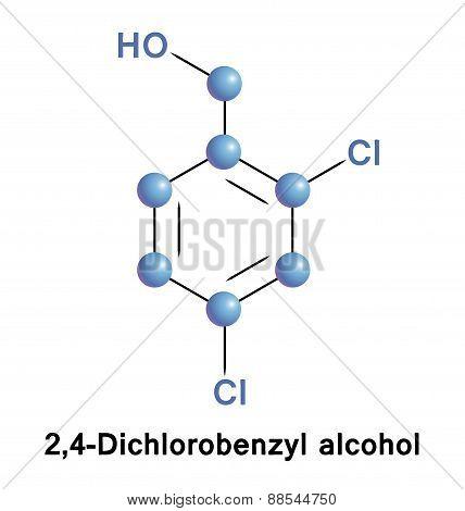 Dichlorobenzyl Alcohol Antiseptic