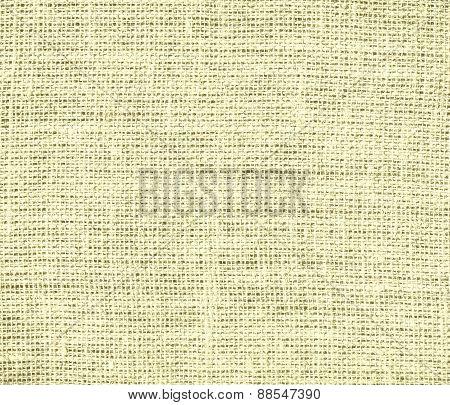 Burlap Blond texture background