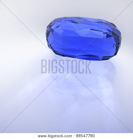 Sapphire Faceted