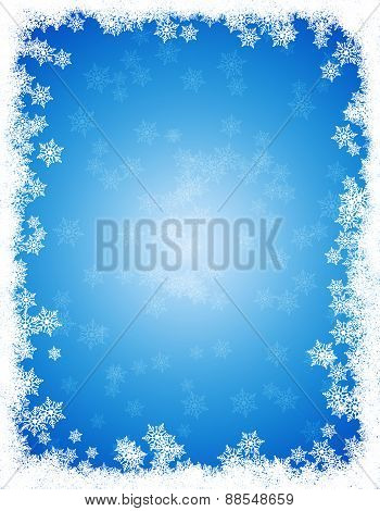 Snow Winter Frame