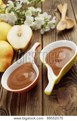 Pear Puree, Baby Food