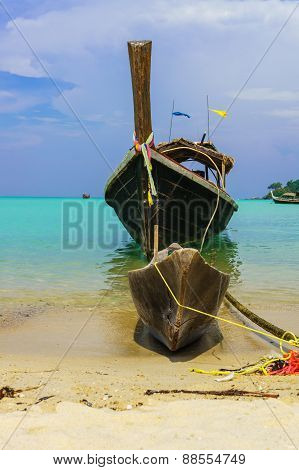 boat in moo koh surin island ,Phang Nga, Thailand