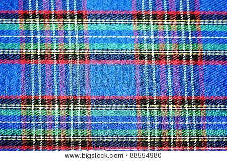 Beautiful plaid fabric