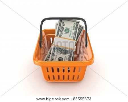 Big pack of dollars.