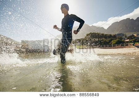 Training For Triathlon Competition