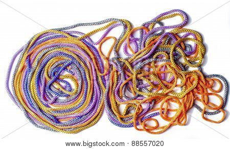 Shoelaces.  Background
