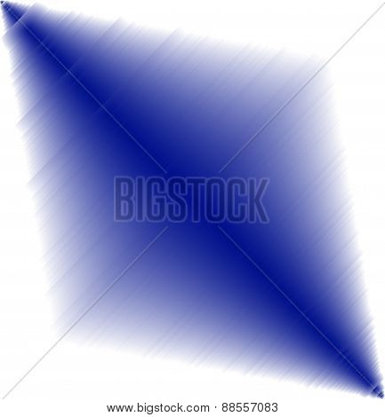 Abstract blue light effect on white Background