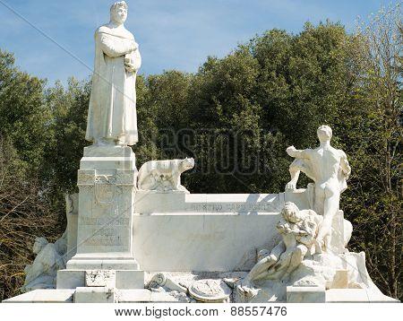 Marble monument of Arezzo
