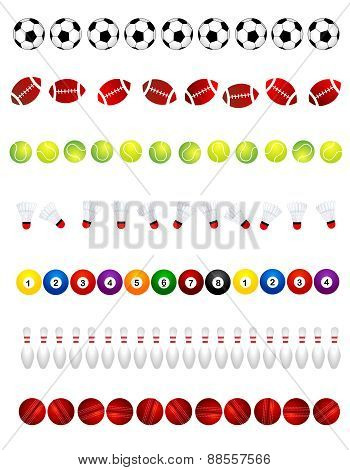 Sport Balls Divider
