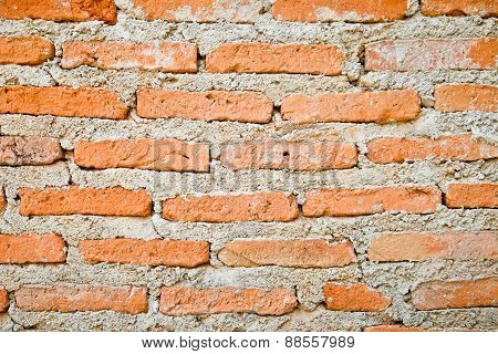 Brick Wall For Background