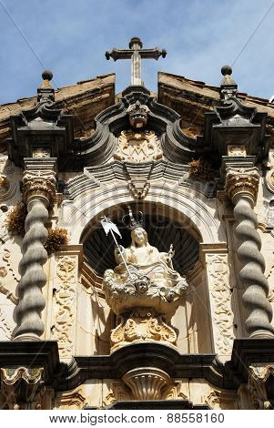 Church sculpture, Priego de Cordoba.