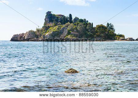 Island Isola Bella Near Taormina Resort, Sicily
