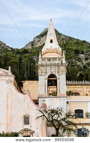 Church In Taormina, Sicily