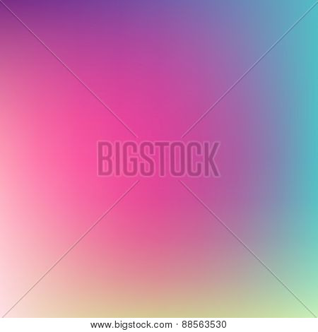 Abstract vector blurred background