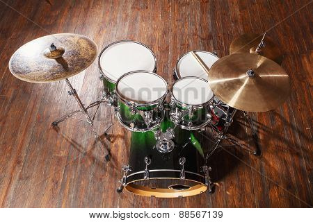 Drums On The Floor
