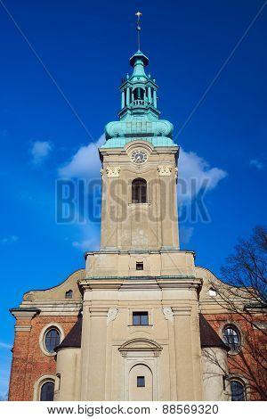 The church tower