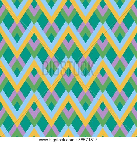 Abstract triangular linear pattern