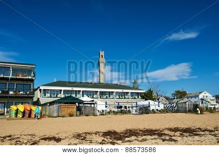 Beach at Provincetown, Cape Cod, Massachusetts, USA.