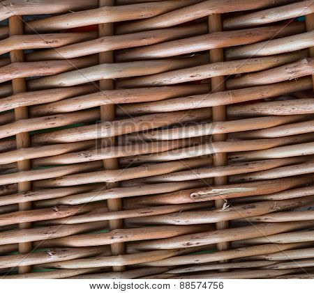 Wicker Background Or Texture