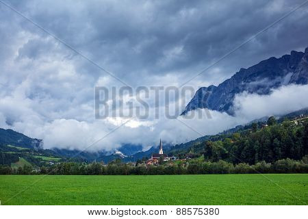Landscape in Alps