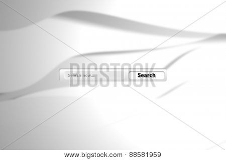 Search engine against white wave design