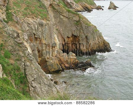 Dangerous cliffs - Ireland