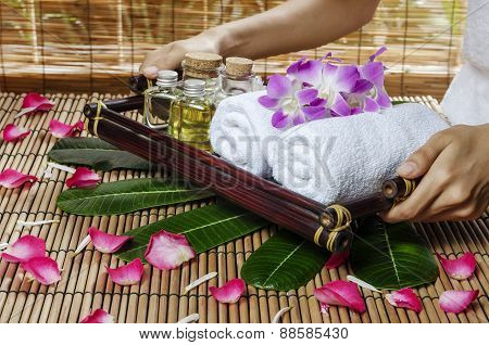 spa and massage treatment