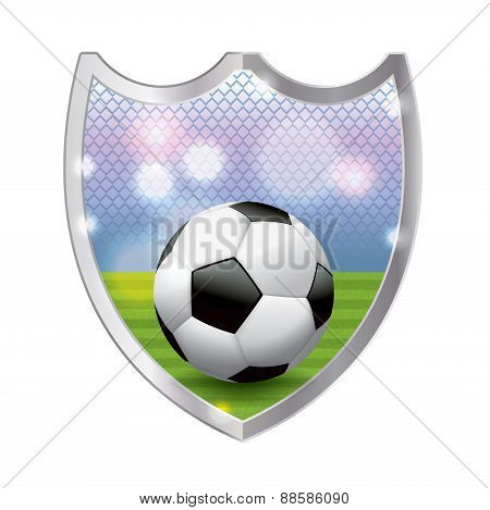 Soccer Emblem Illustration