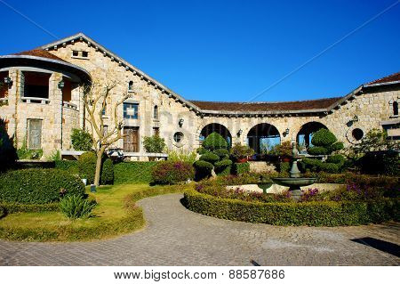 Architecture, Dalat,  French Ancient House