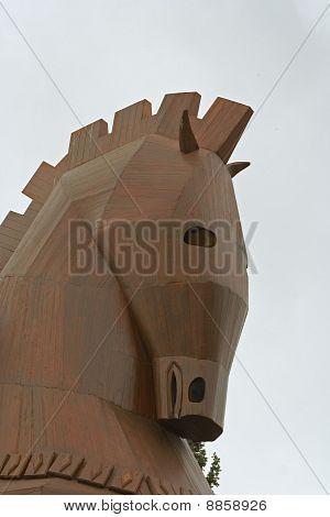 head of troian horse