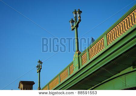 Lamp on Southwark bridge