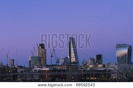 South bank skyline