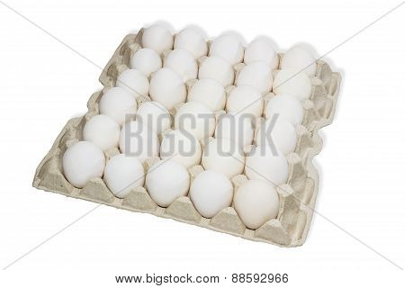 Tray With Eggs
