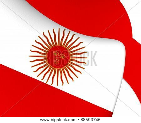 Second Official Flag Of Peru