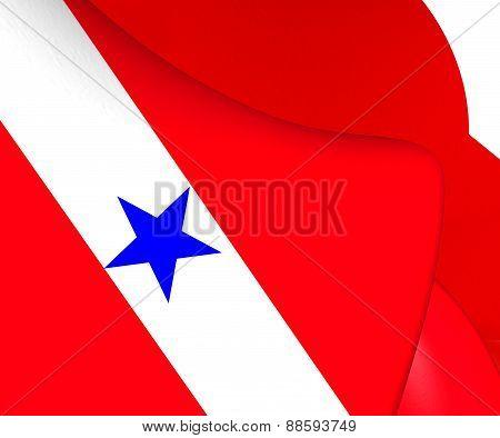 Flag Of Para, Brazil.