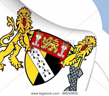 Norfolk Coat Of Arms, England.