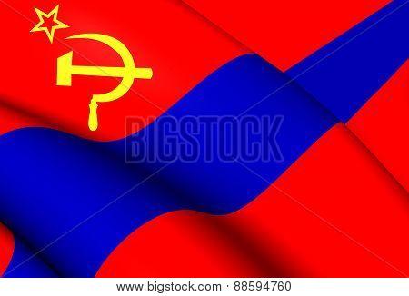 Flag Of Armenian Ssr