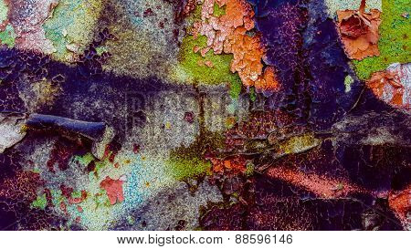 Abstract color grunge texture background