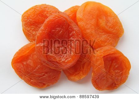 A Handful Of Dried Apricots