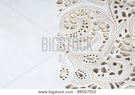 Lace Leather Texture