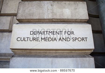 Department For Culture, Media And Sport In London